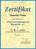 Psychoonkologische Beraterin